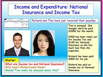 Finance / Careers : Tax + Payslips