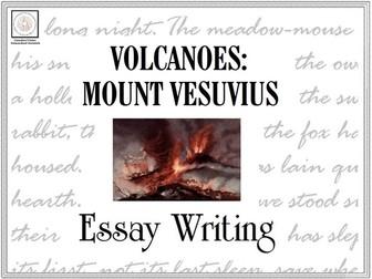 Essay Writing: Volcanoes (Mount Vesuvius)