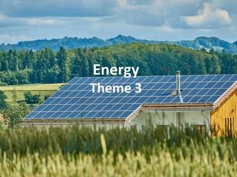 IGCSE Economic Development - Energy