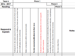 AFL Reading Tracking Sheet