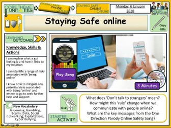 Safer Internet Day - Staying Safe online