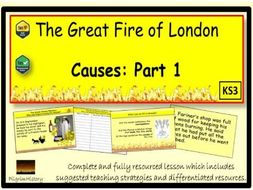 Great Fire of London 1666 Part 1