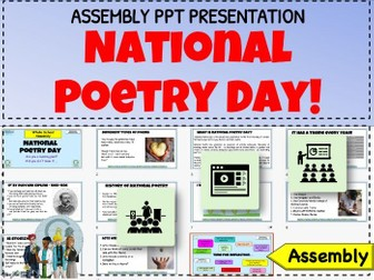 National Poetry Day Assembly