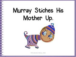 The World of Whyse introduces 'Murray Stitches His Mother Up!'