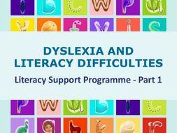 Dyslexia Literacy Support Programme - 1