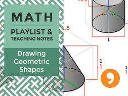 Drawing Geometric Shapes – Playlist and Teaching Notes
