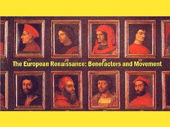 The European Renaissance: Activity
