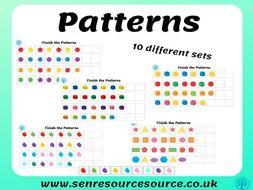 Finish the pattern