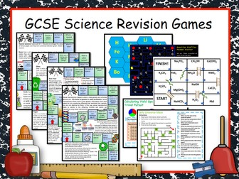 63 GCSE Science Revision Games