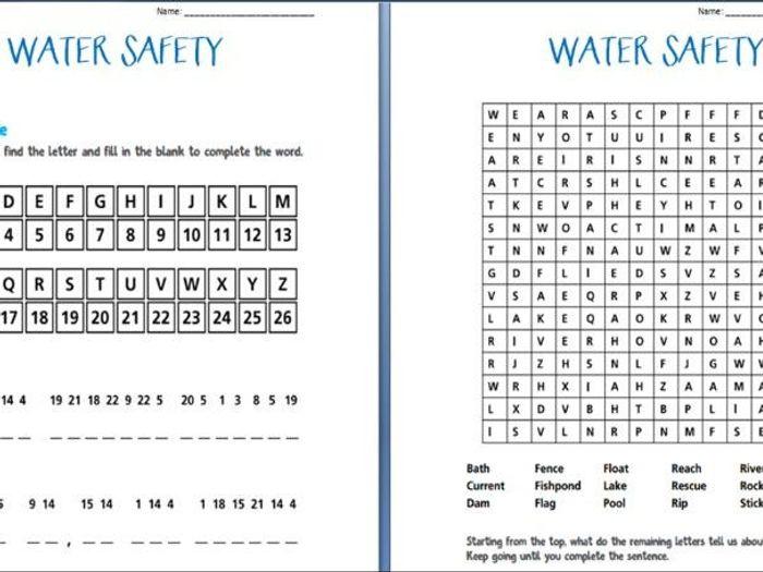 ASDAN programme - Water Skills by stanthonysmayo - Teaching ...