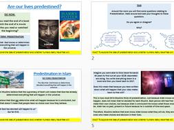 AQA New Specification A: Predestination in Islam