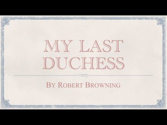 betrayal in my last duchess by robert browning