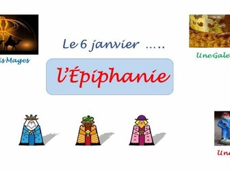 L'Epiphanie - A French Resource for KS2 and Early Secondary