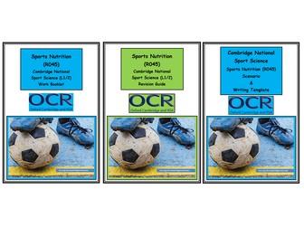 OCR Cambridge National in Sport Science - R045 Sports Nutrition Bundle