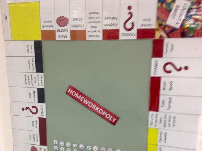 homework monopoly smartboard