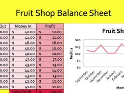 Simple Spreadsheet Data