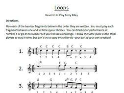 Minimalism performance task: 'Loops'