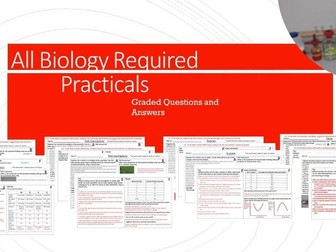 ALL Biology Required Practicals Revision