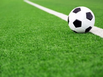 5 Individual Football Lesson Plans and Cover sheets