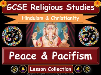 Peace & Pacifism - Hinduism & Christianity (GCSE Lesson Pack)