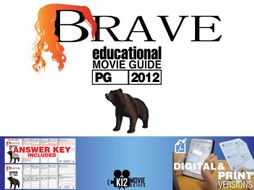 Brave Movie Guide | Questions | Worksheet (PG - 2012)