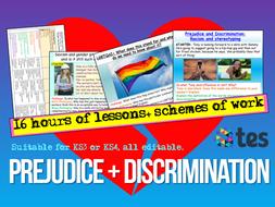 Prejudice and Discrimination Unit Citizenship