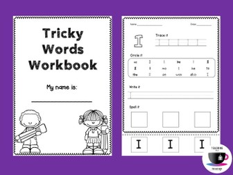 Tricky Words Worksheets - Jolly Phonics