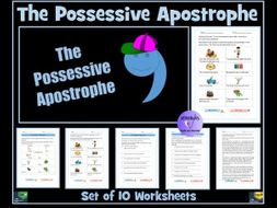 The Possessive Apostrophe Worksheets