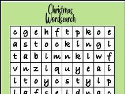 3 Christmas Word Searches with Answers