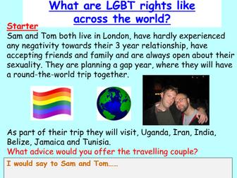 LGBT: homophobia / anti - bullying