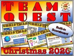 Team Quest Christmas 2020 - Team Building Quiz KS3