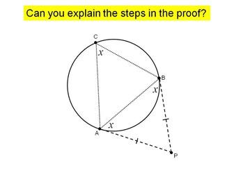 Circle theorems lesson 7