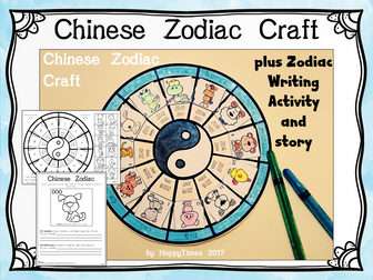 Chinese New Year Zodiac Craft