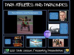 Para Athletics and Paralympics Presentation
