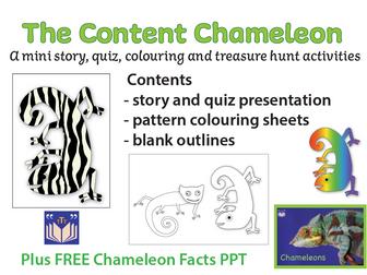The Content Chameleon quiz & activities