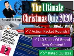 Christmas Quiz 2020