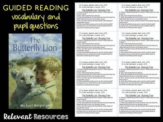 Guided Reading: The Butterfly Lion