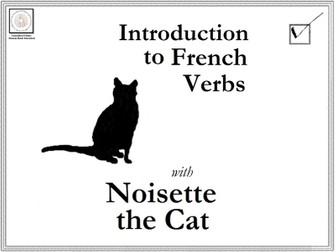 French: Introduction to French Verbs with Noisette the Cat