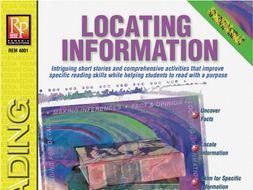 Locating Information: Specific Skills Series