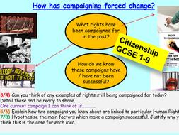 Citizenship GCSE Political Change