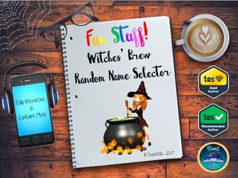 Halloween - Witches Brew - Random Name Generator