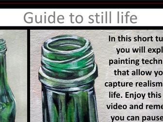 Still Life Painting Video Turorial