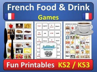French Food (La Nourriture) Games