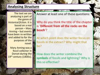 AQA English Language Paper 1 Q3 Structure