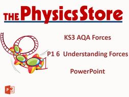 KS3 Physics AQA P1 6 Understanding Forces