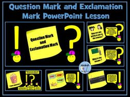 Question Mark and Exclamation Mark