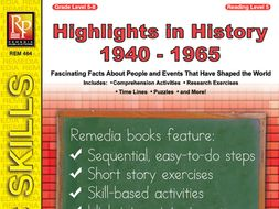 Highlights in History: 1940-1965
