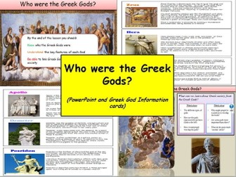 Who were the Greek Gods? (whole lesson)