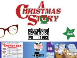 A Christmas Story Movie Guide | Worksheet | Questions | Google Form (PG - 1983)