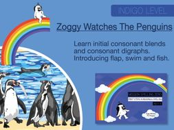 8. Phonics And Spelling Practice: Zoggy Watches The Penguins